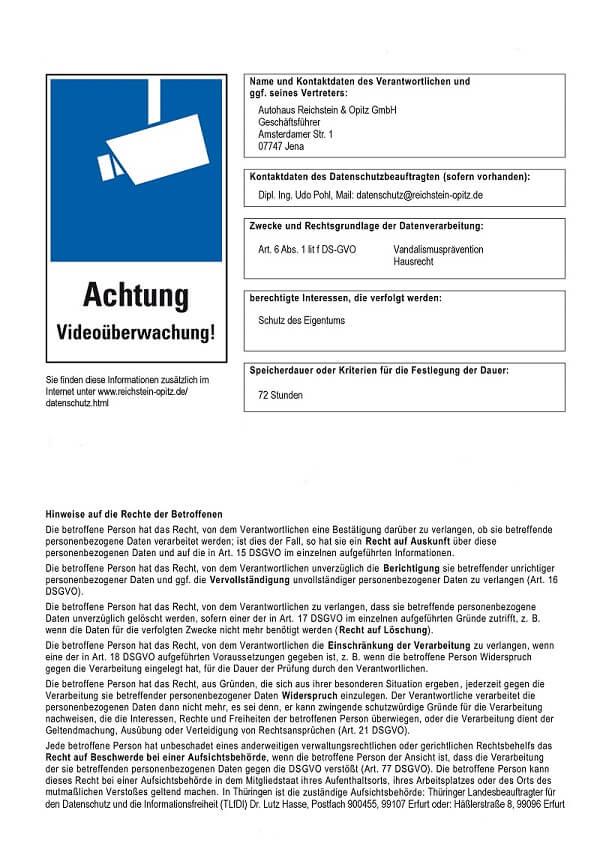Reichstein & Opitz | Datenschutz